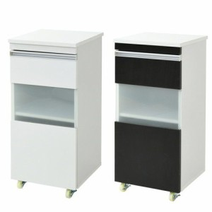 食器棚 レンジ台 幅40 スリム 細い 薄型 隙間 すきま 収納 ラック 家具 ロータイプ 作業台 一人暮らし おしゃれ 北欧 安い キッチン 棚