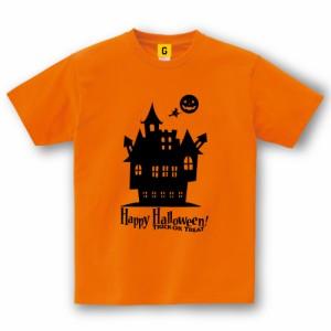 ハロウィーン 衣装 ハロウィン 衣装 コスプレ Happy Halloween Tシャツ B (House)