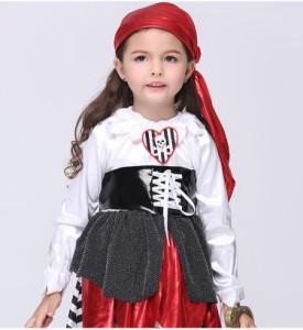 10c5e9d4db6fa ステージ衣装 ハロウィン衣装子供用海賊魔女 コスプレ仮装服ハロウィン子ども衣装