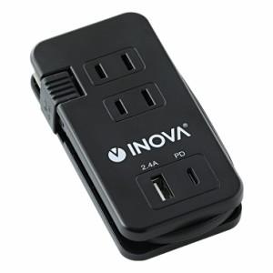 ブラック【USB2個(USB×PD)】