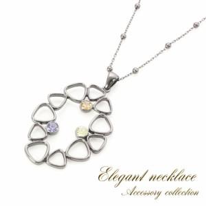 レディース ネックレス トライアングル シンプル キラキラ 幾何学 可愛い オシャレ アクセサリー 女性 カラフル かわいい 三角 ペンダン