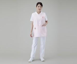 ナビス 予防衣 (ショート丈) サックス/L 8-2296-03