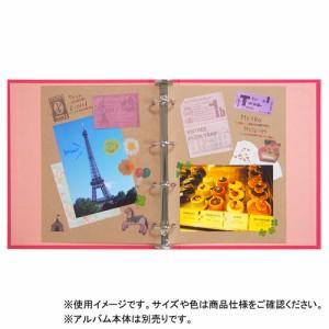 東急ハンズオリジナル リングアルバム スクラップ台紙 M クラフト