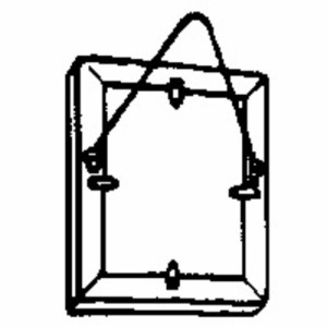 コニ・ビオラ 三角吊金具 ニッケル A−81 8mm 8ケ入