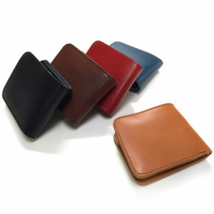c14ed3593559 二つ折り財布 メンズ 小物 栃木レザー 二つ折り ウォレット 財布 日本製 国産品 札入れ