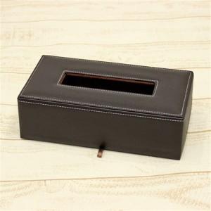 合皮 ティッシュボックス、ティッシュケース 高級ティッシュカバー