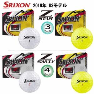 【2019年USモデル】ダンロップ スリクソン Z-STAR 6 シリーズ ゴルフボール 1ダース(12球入)