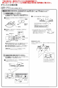 大光電機 LEDダウンライト(軒下使用可) DDL5103AB(非調光型)