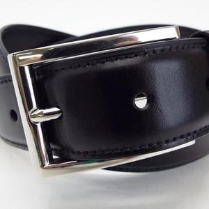 7d6f88a37356 プラダ レザーベルト 全長108センチ 5段切り替え86.5センチ~96センチ 黒 中古 Sランク 未使用 布袋付 PRADA | メンズ 贈り物