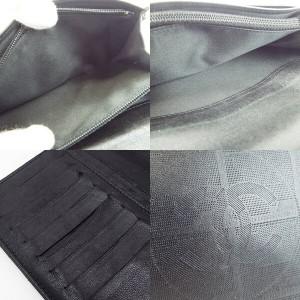 495bff1f7b2c シャネル ニュートラベルライン 二つ折り長財布 ブラック レザー A35435 中古 CHANEL レディース メンズ シール付き