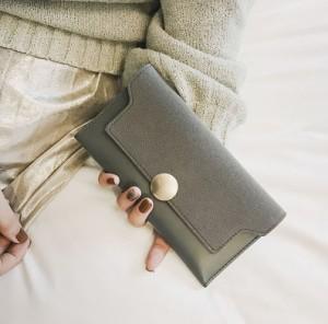 aa37dbac0969 大容量 レディース 財布 長財布 レディース 女性用 ウォレット 小銭入れあり 三つ折り財布
