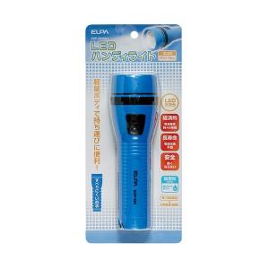 ELPA LEDハンディライト フラッシュライト ブルー DOP-290(BL)