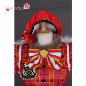 lovelive sunshine aqours ラブライブ! サンシャイン!! アクア クリスマス 渡辺曜 風 コスプレ衣装  cosplay ハロウィン 仮装