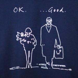 LEON レオン 「ok good...」 クルーネック スウェット パーカー「裏起毛」映画モチーフ「ユニセックス」