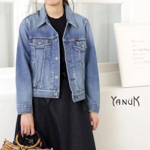 **【18SSコレクション】YANUK〔ヤヌーク〕57181081-IADELE/ボクシーコンパクトデニムジャケット