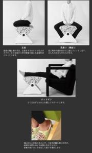 デザイナーズスツール アジャスター付き ホワイト(布:ワインレッド/ABS)【Mona.Dee】モナディー WAS01S 送料込!