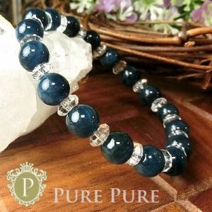 天然石 パワーストーン ブレスレット ブルーアパタイト キャッツ ブレスレット 天然石 パワーストーン