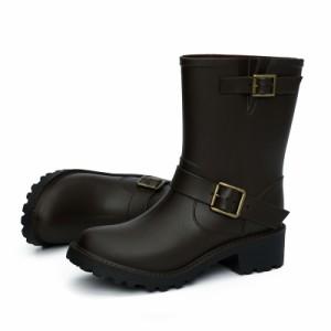 レインブーツ レディース 滑り止め ショートブーツ 防水 長靴 滑りにくい 釣り 小さいサイズ レインシューズ