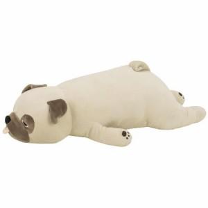 (プレミアムねむねむアニマルズ)抱きまくら Lサイズ(種類:パグのハナ (48768-32) ) (送料無料)(イヌ、いぬ、犬、ドッグ、抱