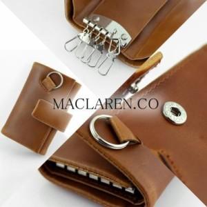 MC-0604 MACLAREN.COからソフトレザーマルチキーケース  (送料無料)(キーホルダー、キーケース、カギ・鍵収納、財布)