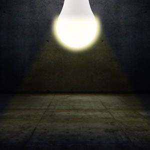 URAQT LEDセンサーライト 室内人感 センサーライト E26 7W 明暗 (7W常夜灯電球色)