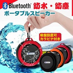 Sarada 防水ポータブルスピーカー お風呂 (オレンジ) [並行輸入品]