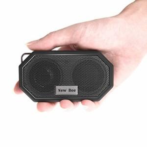 スピーカー Bluetooth4.0 ポータブル IP66防水&防塵認証 超小型 内蔵マイク 5時間連続再生 通話可能