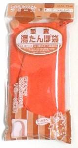 愛妻 湯たんぽ袋 (フリース地) オレンジ