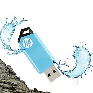 HP USBメモリ 32GB USB 2.0  スライド式 耐衝撃 防滴 防塵 のフラッシュドライブ v150w HPFD150