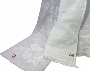 今治浴布 タオルギフト (フェイスタオル(ガーゼ)×1・フェイスタオル(カラー)×1) TMS2006702