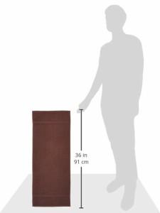 泉州タオル フェイスタオル こだわり 6枚組 こげ茶 約35×87cm
