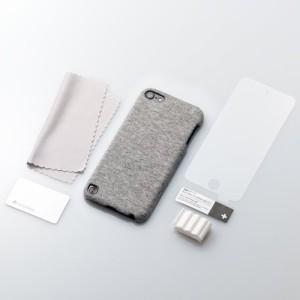 Simplism iPod touch (5th) ファブリックカバー Loop対応 液晶保護フィルム付属 スウェット TR-F