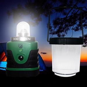 LEDランタン エクスプローラー プロフェッショナル 【明るさ300ルーメン/連続点灯72時間】 (グリーン)