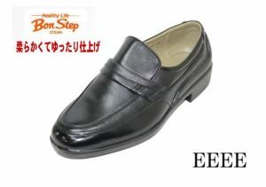 da128a13ae9d6d Bonstep ボンステップ5057黒4E 本革メンズビジネスシューズ 防水靴 ゆったりワイド【