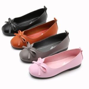 靴/女の子/女児/子供/ガールズ/シューズ/フォーマルシューズ/フラットシューズ/フォーマル靴/子供靴/お姫様/蝶結び飾り/リボ