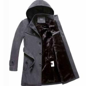 チェスターコート メンズ モッズコート 裏起毛 厚手 暖 アウター ビジネス フード付き ジャケット 冬コート ジャケット 秋冬
