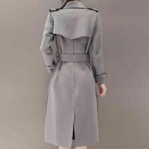 トレンチコート 大きいサイズ ロング コート 羽織り パーティー トレンチ 大人トレンチ トレンチ スプリングコート レディース