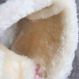 ワークブーツ ムートンブーツ スノーブーツ 裏ボア 暖 防寒 カラー 美脚 厚底 疲れにくい カジュアル シンプル 無地 滑り止