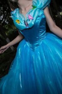 ec62db118b3ef ハロウィンシンデレラ ドレスプリンセスドレスコスプレ衣装 コスチューム女性用 ワンピースレディース 童話キャラクター お姫様
