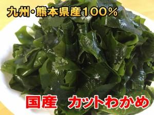 カットわかめ 国産 乾燥 ワカメ 九州・熊本県 天草産100%【送料無料】