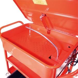 パーツ洗浄台 68 移動式 容量90Lシンク 電動ポンプ付