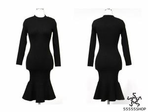 [55555SHOP]レディース 新作 Sale ワンピース Party セクシー  上品 ドレス