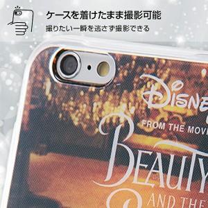 iPhone 6 / 6s ディズニー映画『美女と野獣』 / TPUケース + 背面パネル / 美女と野獣13 美女と野獣 グッズ