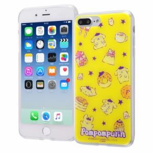 iPhone8 Plus / 7 Plus ケース ポムポムプリン サンリオ TPUケース + 背面パネル / ポムポムプリン2