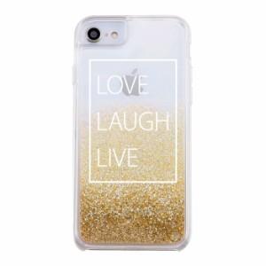 617290d22e iphone グリッターケース iPhone8 ケース iPhone7 iPhone6s /6 Bambina vivace ラメ グリッター  スマホケース / ロゴ