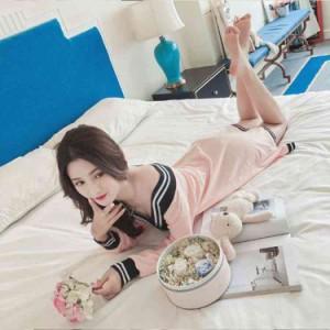 新作 パジャマ ワンピース ルームウェア 部屋着 寝巻き プレゼント レディース パジャマ 長袖