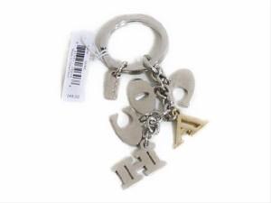 コーチ レターズ マルチミックス キーホブ 62741 マルチカラー COACH Letters Multi Mix Key Fob (Style F62741)