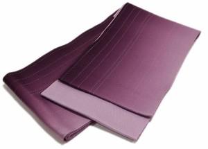 半幅帯京都・西陣日本製グラデーションリバーシブルラメ入り浴衣帯リバーシブル紫×パープルレディース女性用