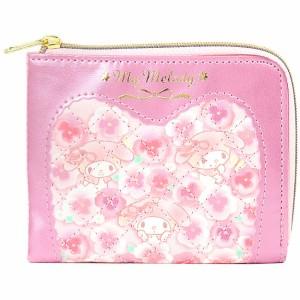 マイメロディ カード&パスケース 定期入れ レディース 女性 ステッチ ピンク☆サンリオ ファッションバッグ&バッグ小物シリーズ