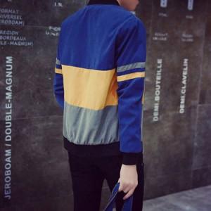 送料無料 メンズアウター メンズコート スカジャン スタンドカラー ミリタリー ジャケット アウター メンズ カジュアル 長袖